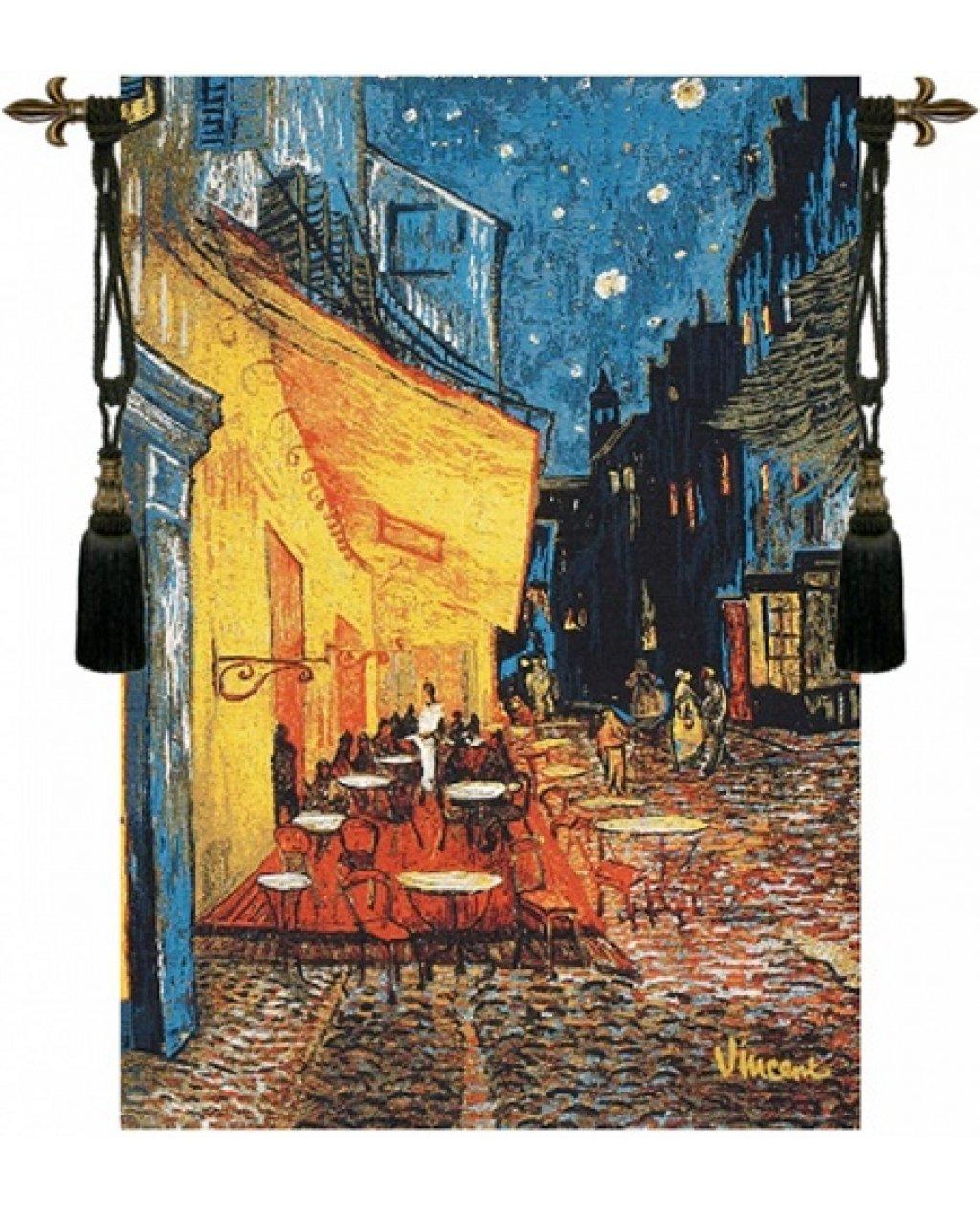 Гобелен Терраса кафе ночью Ван Гог