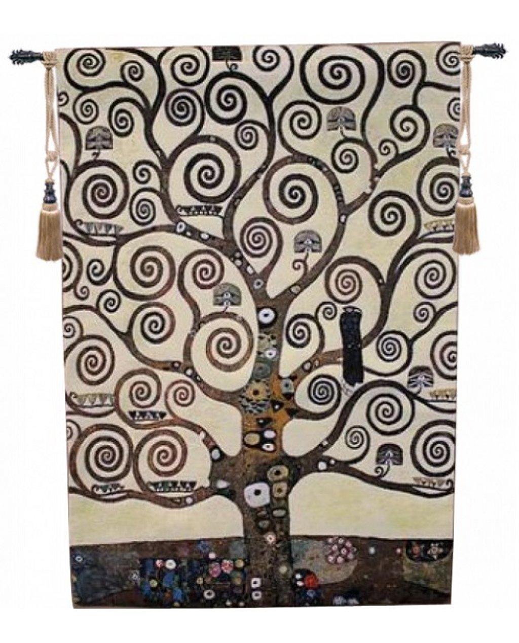 Гобелен  Древо жизни Густав  Климт